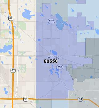 Homes for Sale in Windsor Zip Code 80550