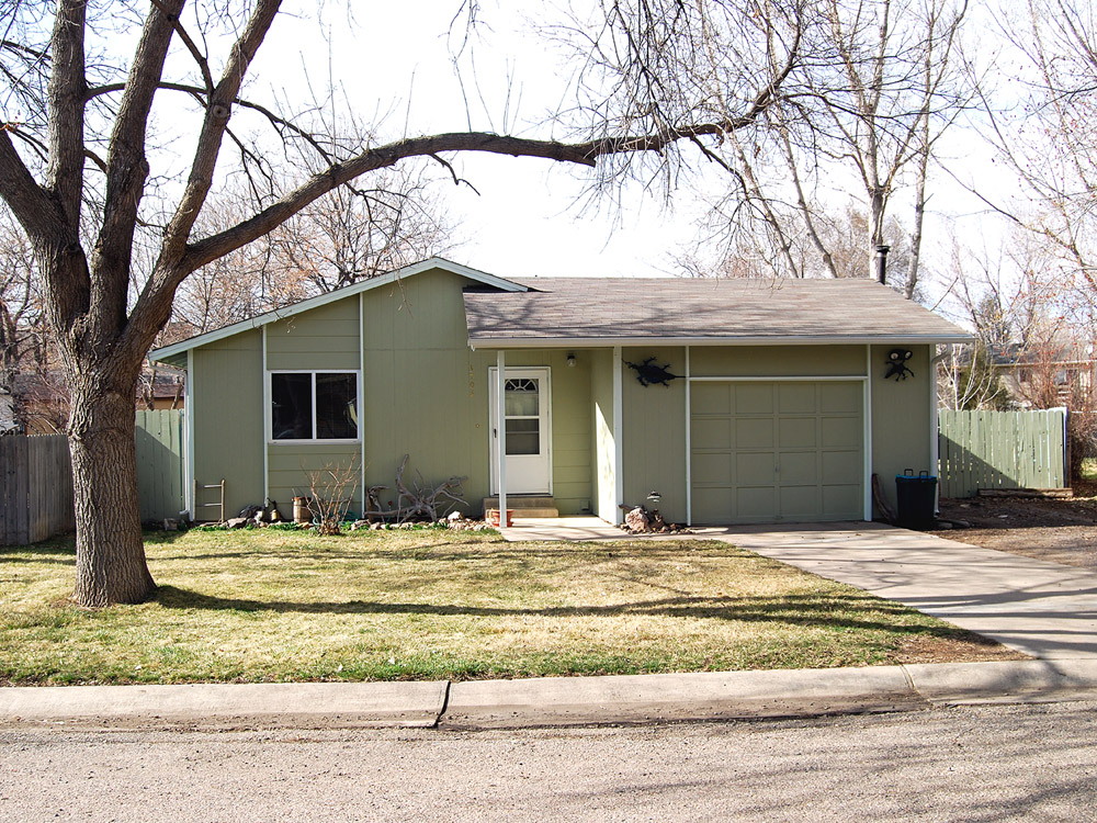 Typical Northern Colorado Affordable Home